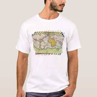 Map charting Sir Francis Drake's T-Shirt
