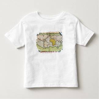 Map charting Sir Francis Drake's Toddler T-Shirt