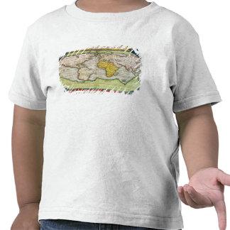 Map charting Sir Francis Drake's T-shirts