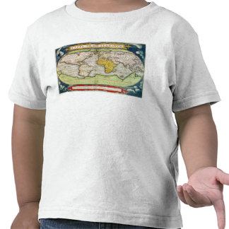 Map charting Sir Francis Drake's Shirt
