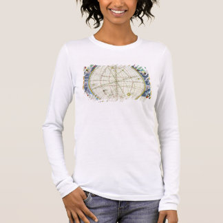 Map Charting the Movement of the Earth and Planets Long Sleeve T-Shirt