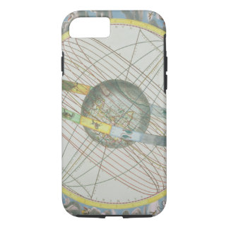 Map Charting the Orbit of the Moon around the Eart iPhone 8/7 Case