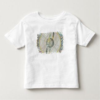 Map Charting the Orbit of the Moon around the Eart Toddler T-Shirt