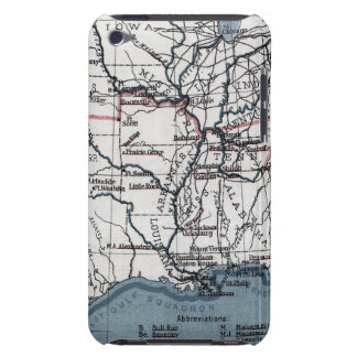 MAP: CIVIL WAR, 1861 BARELY THERE iPod CASES