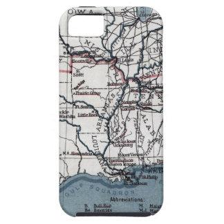 MAP: CIVIL WAR, 1861 iPhone 5 CASE