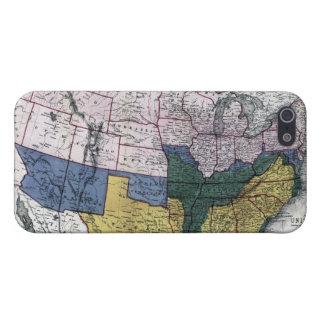 MAP: CIVIL WAR, 1864 iPhone 5/5S CASE