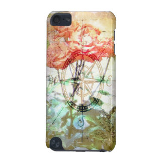 Map, Compass, Roses iPod Touch (5th Generation) Case