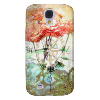 Map Compass Roses Samsung Galaxy S4 Cases
