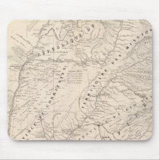 Map, Corrientes Prov, Terr Mission Mouse Mat
