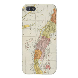 MAP: CUBA, 1900 iPhone 5/5S COVER
