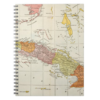 MAP: CUBA, 1900 NOTEBOOK