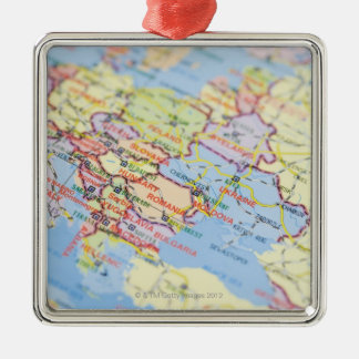 Map Christmas Ornament