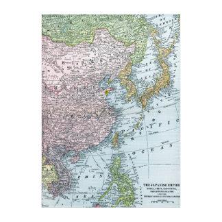 MAP: EAST ASIA, 1907 ACRYLIC WALL ART