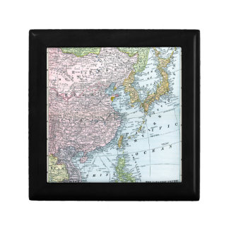 MAP: EAST ASIA, 1907 SMALL SQUARE GIFT BOX