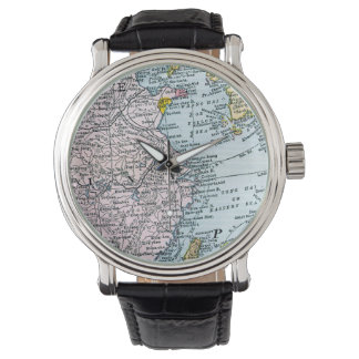 MAP: EAST ASIA, 1907 WRISTWATCHES