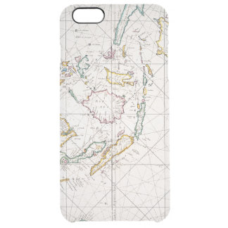 MAP: EAST INDIES, 1670 CLEAR iPhone 6 PLUS CASE