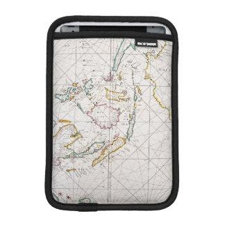 MAP: EAST INDIES, 1670 iPad MINI SLEEVE