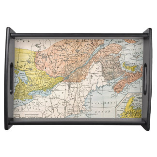 MAP: EASTERN CANADA SERVING TRAY
