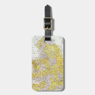 MAP: ENGLAND & WALES LUGGAGE TAG