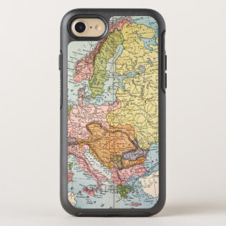 MAP: EUROPE, 1885 OtterBox SYMMETRY iPhone 7 CASE