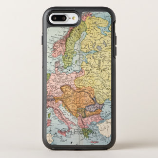 MAP: EUROPE, 1885 OtterBox SYMMETRY iPhone 8 PLUS/7 PLUS CASE
