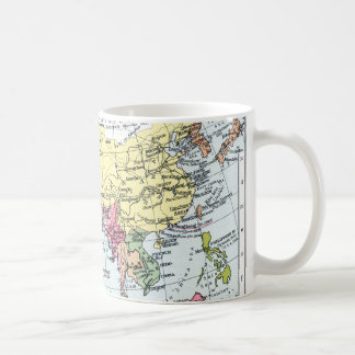 MAP: EUROPE IN ASIA BASIC WHITE MUG