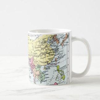 MAP: EUROPE IN ASIA COFFEE MUG