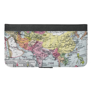 MAP: EUROPE IN ASIA iPhone 6/6S PLUS WALLET CASE