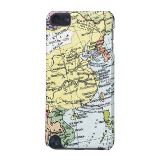 MAP: EUROPE IN ASIA iPod TOUCH (5TH GENERATION) CASES
