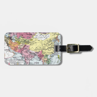 MAP: EUROPE IN ASIA LUGGAGE TAG