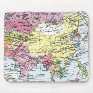 MAP: EUROPE IN ASIA MOUSE PAD