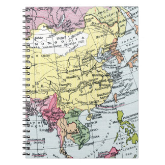 MAP: EUROPE IN ASIA NOTEBOOKS