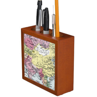 MAP: EUROPE IN ASIA PENCIL HOLDER