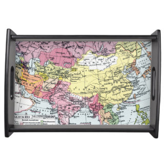 MAP: EUROPE IN ASIA SERVING TRAY