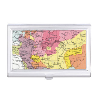 MAP: EXPANSION OF RUSSIA BUSINESS CARD CASE