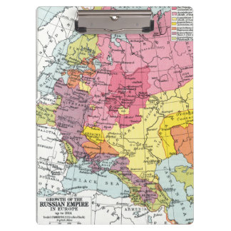 MAP: EXPANSION OF RUSSIA CLIPBOARDS