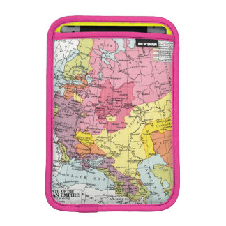 MAP: EXPANSION OF RUSSIA iPad MINI SLEEVES