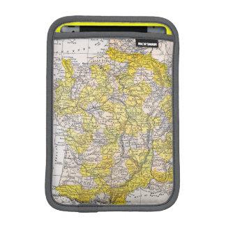 MAP: FRANCE iPad MINI SLEEVE