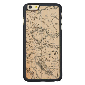 MAP: GERMANY AND AUSTRIA CARVED MAPLE iPhone 6 PLUS CASE