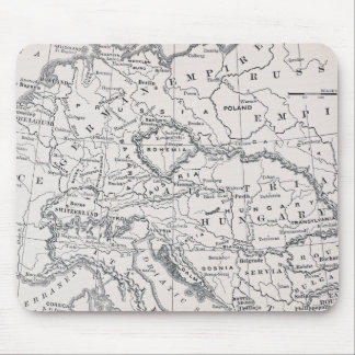 MAP: GERMANY AND AUSTRIA MOUSE MAT