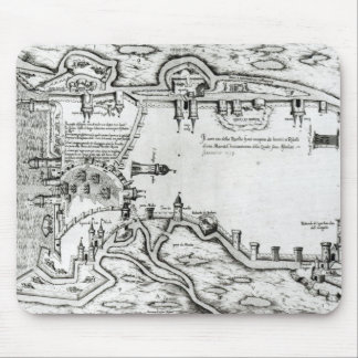 Map illustrating La Rochelle occupied Mouse Pad
