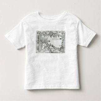 Map illustrating La Rochelle occupied Toddler T-Shirt