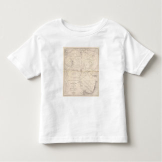 Map, Indian Territory South of the Pampas Region Toddler T-Shirt
