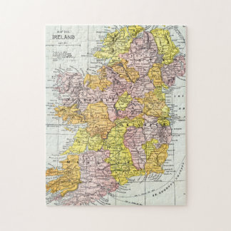 MAP: IRELAND, c1890 Jigsaw Puzzle