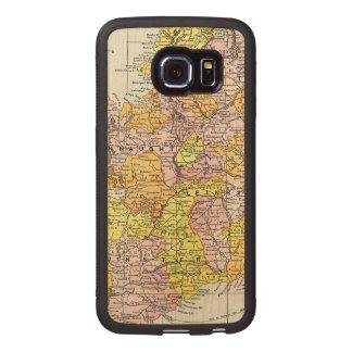 MAP: IRELAND, c1890 Wood Phone Case