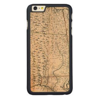MAP: JAMAICA, 1755 2 CARVED MAPLE iPhone 6 PLUS CASE