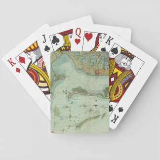 MAP: JAMAICA, 1756 PLAYING CARDS