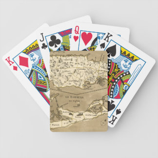 MAP: JAMAICA, 1767 BICYCLE PLAYING CARDS