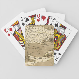 MAP: JAMAICA, 1767 PLAYING CARDS