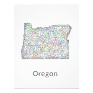 map_line_US_01_Oregon.ai 21.5 Cm X 28 Cm Flyer